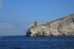意大利海岸 免版税库存照片