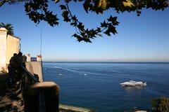 意大利海景 免版税库存图片