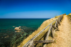 意大利海边 库存照片