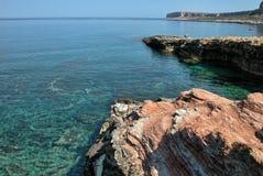 意大利海运西西里岛 库存照片