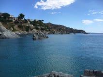 意大利海滩 库存图片