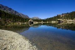 意大利湖 免版税图库摄影