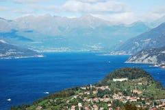 意大利湖 库存照片