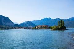 意大利湖maggiore Isola Bella海岛 免版税库存图片