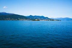 意大利湖maggiore Isola Bella海岛 库存照片