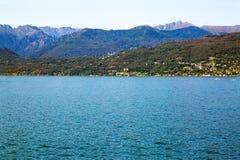 意大利湖maggiore Isola Bella海岛 图库摄影