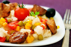 意大利煨饭用肉 图库摄影
