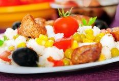 意大利煨饭用肉 免版税库存图片