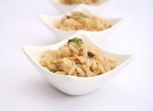 意大利煨饭用蘑菇 库存图片