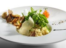 意大利煨饭 库存图片