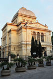 意大利犹太罗马犹太教堂 图库摄影