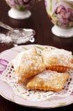意大利甜点 库存照片
