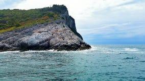 意大利的峭壁 库存图片