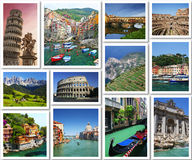 从意大利的明信片 库存照片