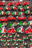 意大利的纪念品磁铁的汇集 库存照片