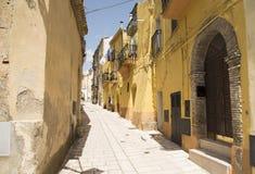 意大利的街道和车道 免版税图库摄影