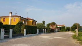 意大利的郊区 库存照片