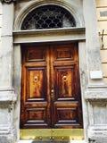 意大利的门道入口 库存图片