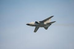 意大利空军龙卷风喷气式轰炸机 免版税库存照片