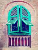 意大利窗口 库存照片