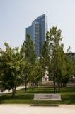 意大利米兰现代摩天大楼 免版税库存图片