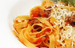意大利细面条意大利面食 免版税库存图片