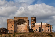意大利罗马罗马寺庙金星 免版税图库摄影