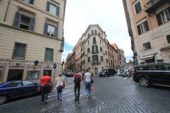 意大利罗马街道视图 免版税库存照片