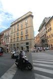 意大利罗马街道视图 库存照片