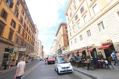 意大利罗马街道视图 免版税库存图片