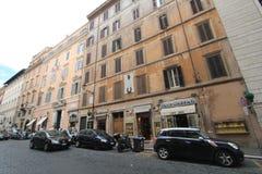 意大利罗马街道视图 库存图片