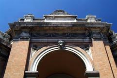 意大利老拉韦纳城镇 免版税库存照片