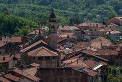 意大利老村庄 免版税库存图片