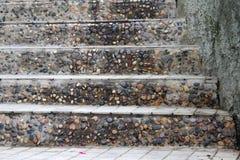 意大利老系列楼梯石头 库存图片