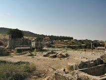 意大利考古学博物馆在Heropolis 免版税库存图片