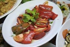 意大利胡椒红色 库存图片