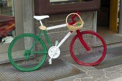 意大利自行车 库存照片
