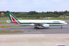 意大利航空波音777 库存照片