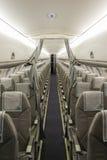意大利航空飞机位子 免版税库存照片