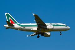 意大利航空 免版税库存照片
