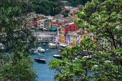 意大利菲诺港利古里亚 免版税库存图片