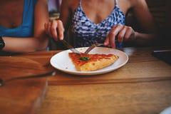 意大利薄饼玛格丽塔 库存图片