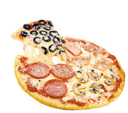 意大利薄饼 免版税库存照片