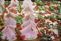 意大利薄饼 库存照片
