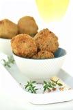 意大利蘑菇Arancini 库存照片