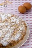 意大利蛋糕 库存照片