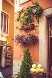 意大利街道的美好的零件 库存照片