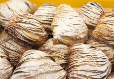 意大利街道食物 免版税库存图片