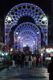 意大利西西里岛比亚恩卡维拉-市的圣洁受护神圣 免版税图库摄影