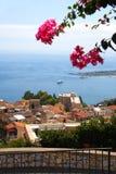 意大利西西里岛taormina 库存图片